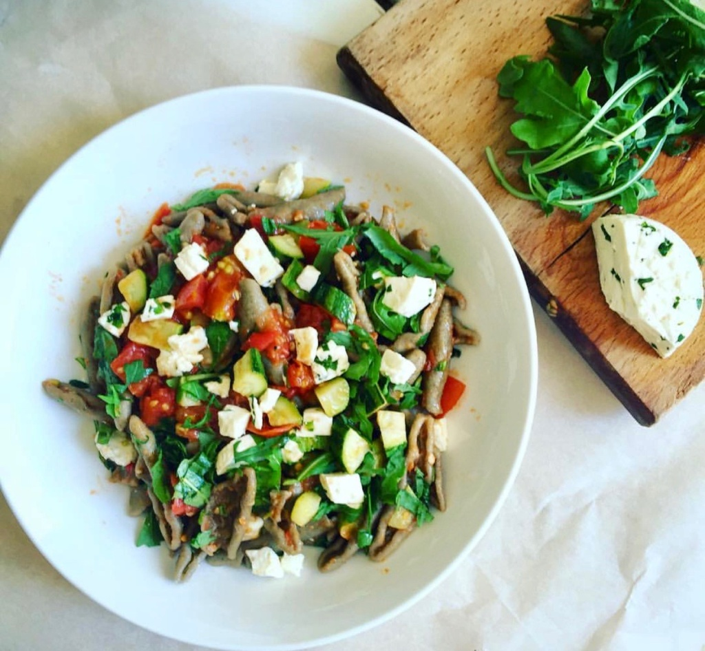 italian pasta summer recipe